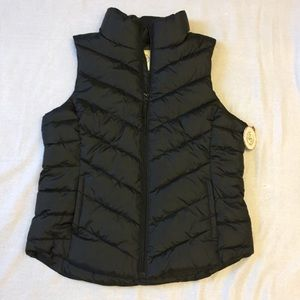 Authentic American Heritage Chevron Puffer Vest L